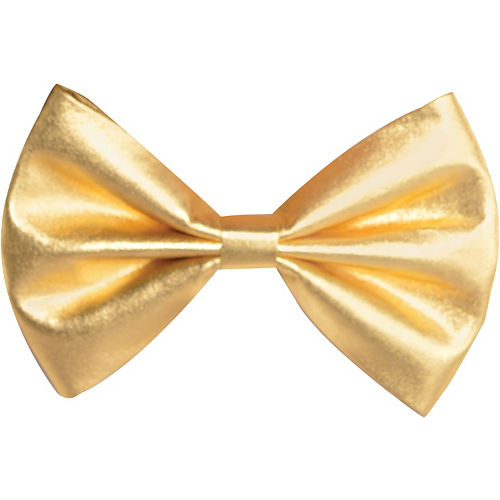 Gold Bow Tie Image #1