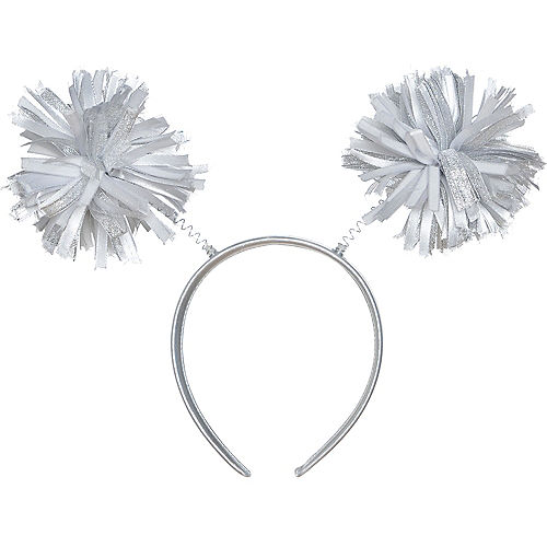 Silver Pom-Pom Head Bopper Image #1