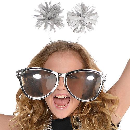 Silver Pom-Pom Head Bopper Image #2