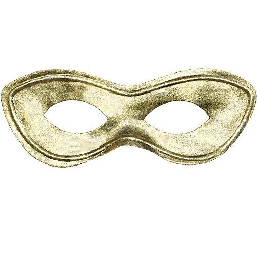 Gold Domino Mask Image #1