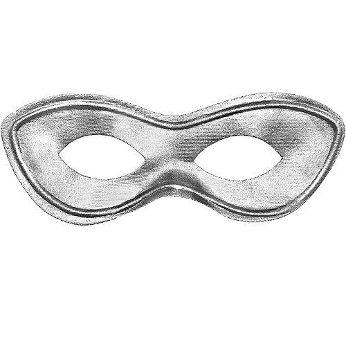 Silver Domino Mask Image #1