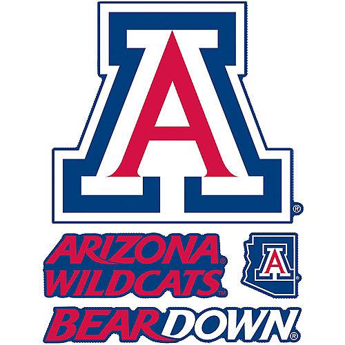 Arizona Wildcats Decals 4ct Image #1