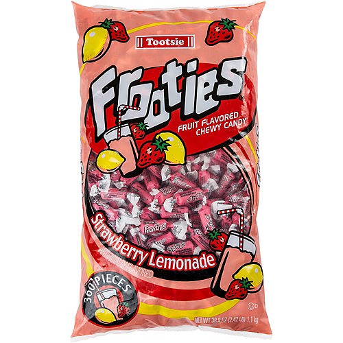 Strawberry Lemonade Frooties Chewy Candy 360ct Image #1