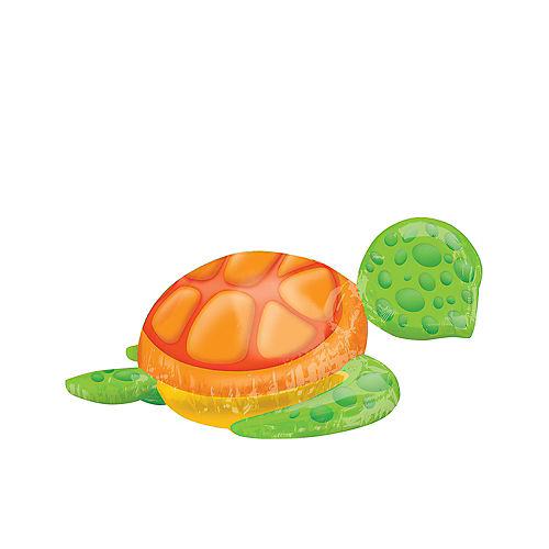 Silly Sea Turtle Balloon 31in x 20in Image #2