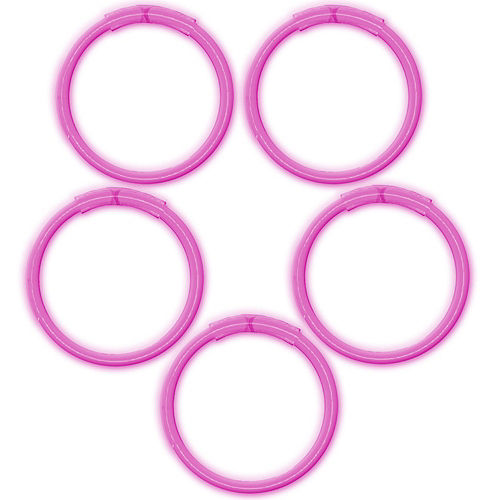 Nav Item for Pink Glow Bracelets 5ct Image #1