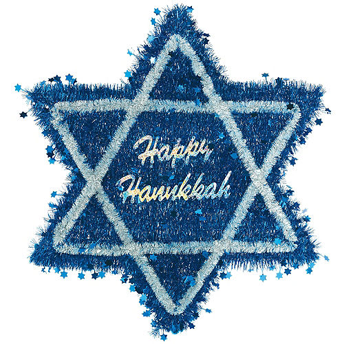 Tinsel Star of David Deluxe Image #1