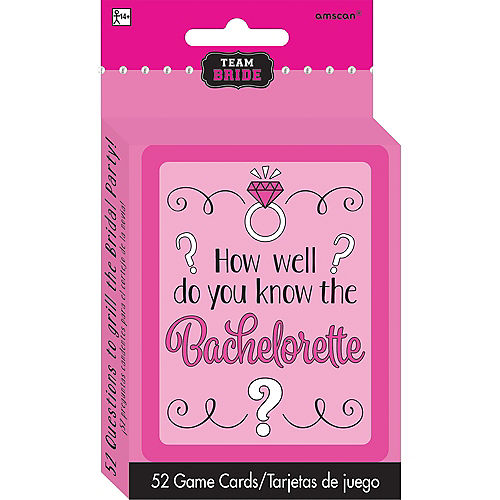 Team Bride How Well Do You Know the Bachelorette? Bachelorette Party Game Image #1
