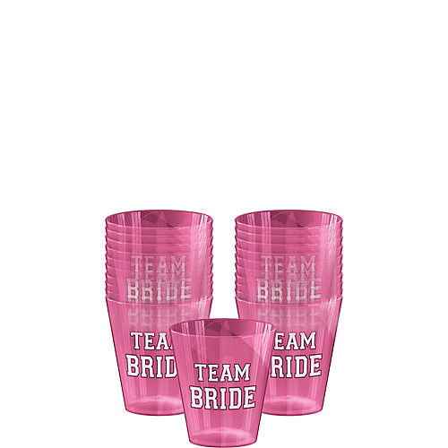 Team Bride Shot Glasses 40ct Image #1