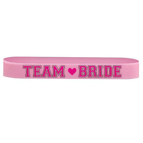 Team Bride Wristbands 6ct Image #1