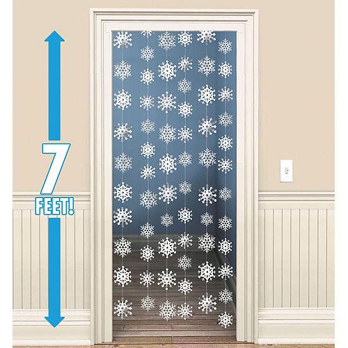 Snowflake String Decorations 6ct Image #1