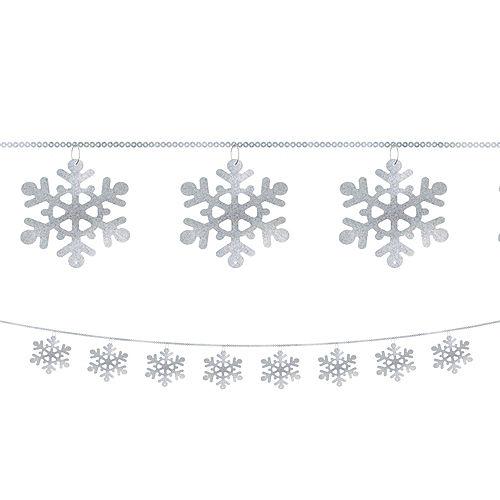 Snowflake String Garland Image #1