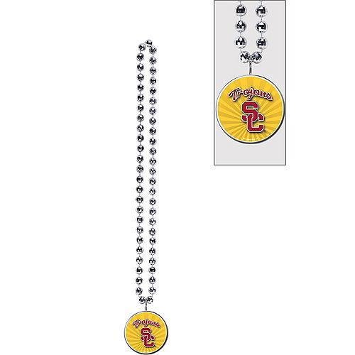 USC Trojans Pendant Bead Necklace Image #1