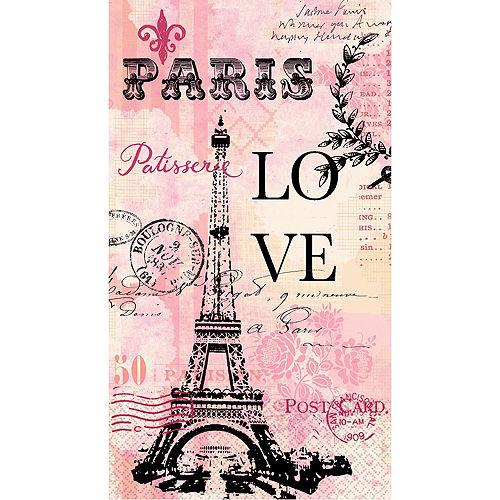 Paris Love Guest Towels 16ct Image #1