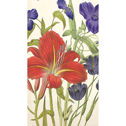 Tiger Lily Guest Towels 16ct Image #1