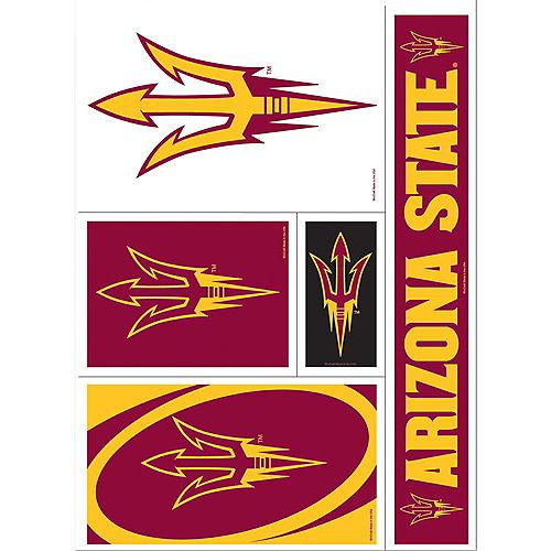 Arizona State Sun Devils Decals 5ct Image #1