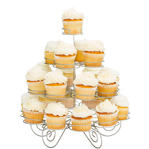 4 Tier Cupcake Wire Stand Image #1