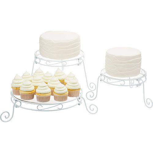 Adjustable Cake Stand Set Image #1