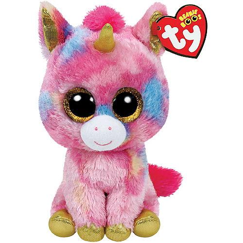 Fantasia Beanie Boo Unicorn Plush Image #1