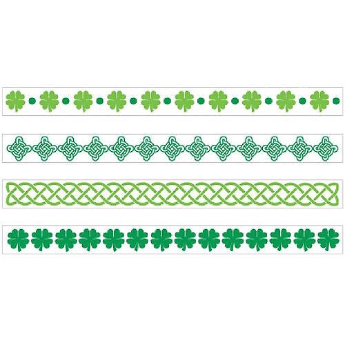 St. Patrick's Day Bracelet Tattoos 2 Sheets Image #1