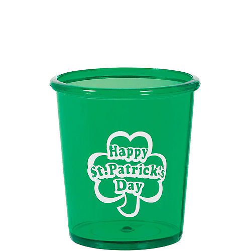 St. Patrick's Day Shot Glass Image #1