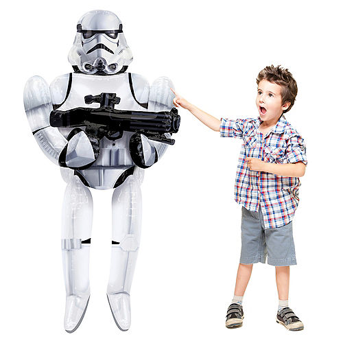 Stormtrooper Balloon - Star Wars 7 The Force Awakens Giant Gliding, 70in Image #1
