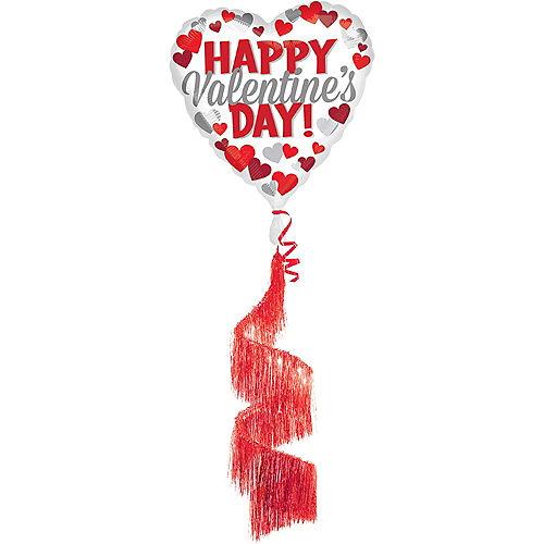 Happy Valentine's Day - Fringe Tail, 36in Image #1
