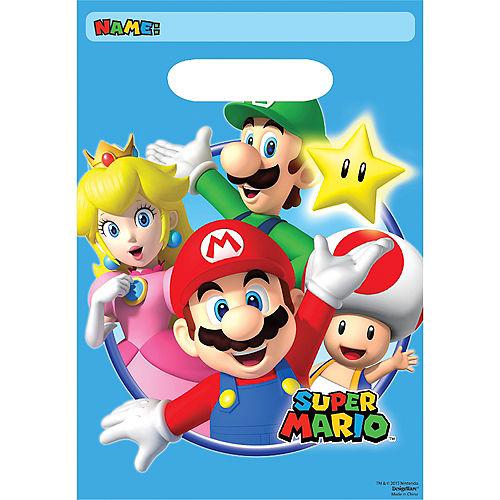 Super Mario Favor Bags 8ct Image #1