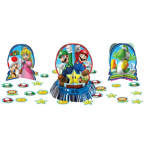 Super Mario Table Decorating Kit 23pc Image #1