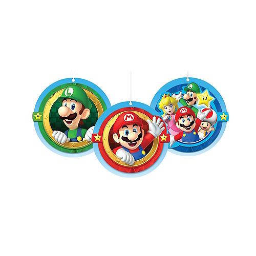 Super Mario Honeycomb Balls 3ct Image #1