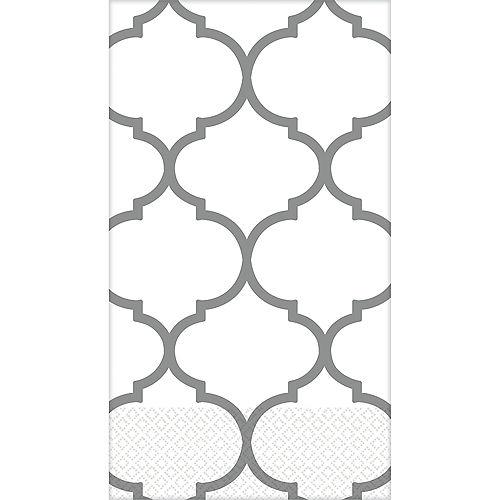 Silver Lattice Premium Guest Towels 16ct Image #1