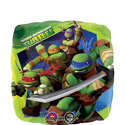Teenage Mutant Ninja Turtles 1st Birthday Balloon Bouquet 5pc Image #3