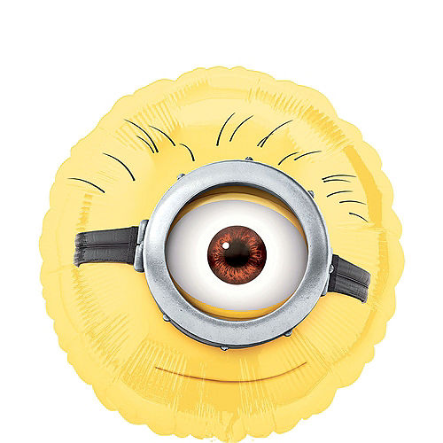Despicable Me 4th Birthday Balloon Bouquet 5pc Image #4