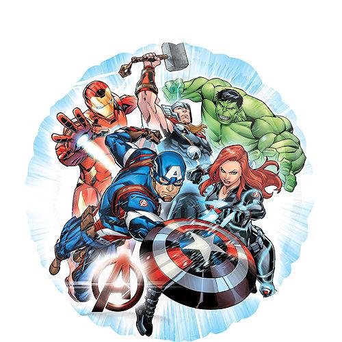 Avengers 3rd Birthday Balloon Bouquet 5pc Image #4