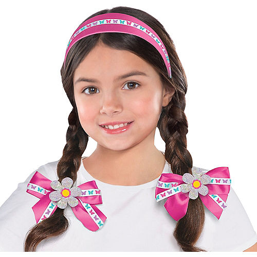 Child Easter Hair Accessory Set 3pc Image #1
