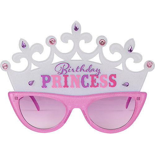 Birthday Princess Tiara Sunglasses Image #1