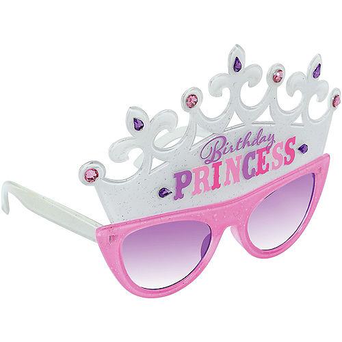 Birthday Princess Tiara Sunglasses Image #2