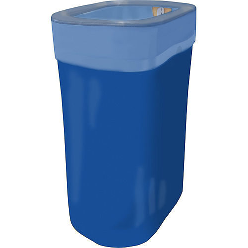 Royal Blue Pop-Up Trash Bin Image #1