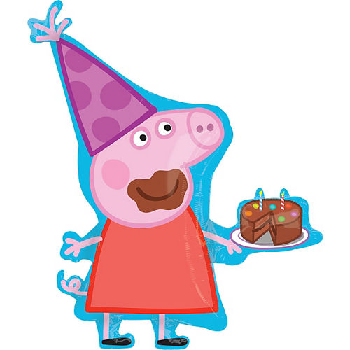 Peppa Pig Balloon - Giant Image #1