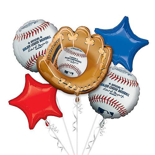 MLB Balloon Bouquet 5pc Image #1