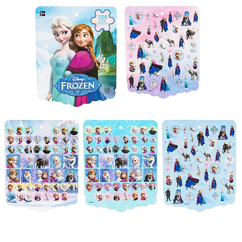 Jumbo Frozen Sticker Book 8 Sheets Image #1