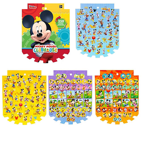 Jumbo Mickey Mouse Sticker Book 8 Sheets Image #1