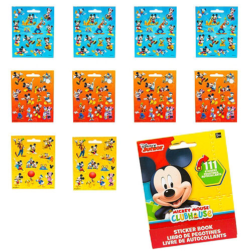 Mickey Mouse Sticker Book 9 Sheets Image #1