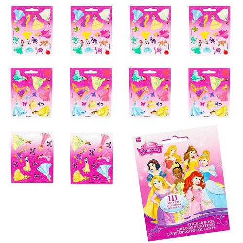 Disney Princess Sticker Book 9 Sheets Image #1