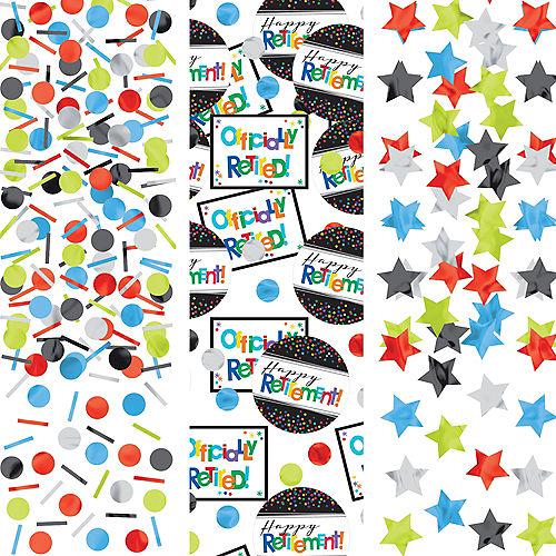 Happy Retirement Celebration Confetti Image #1