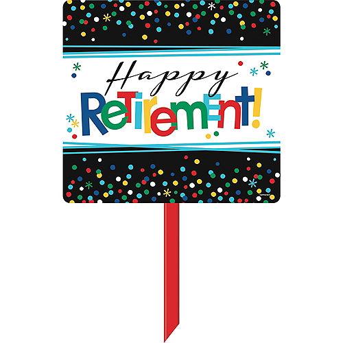 Happy Retirement Celebration Yard Sign Image #1
