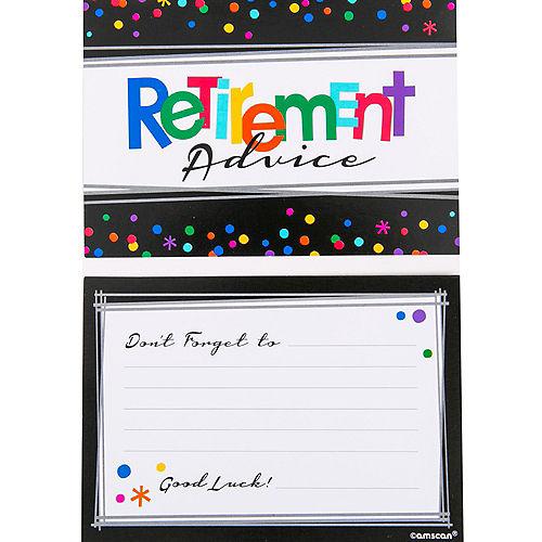 Happy Retirement Celebration Advice Cards 24ct Image #2