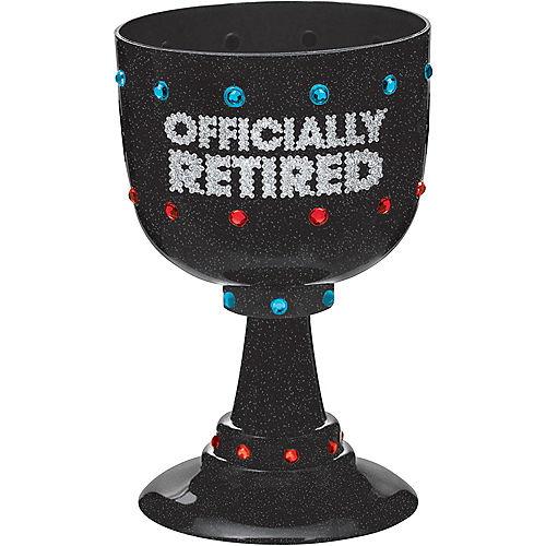 Happy Retirement Celebration Goblet Image #1