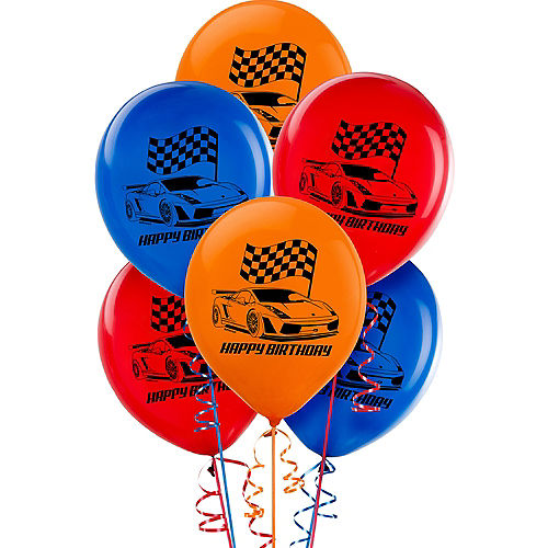 Hot Wheels Balloons 6ct Image #1