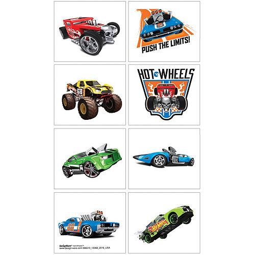 Hot Wheels Tattoos 1 Sheet Image #1