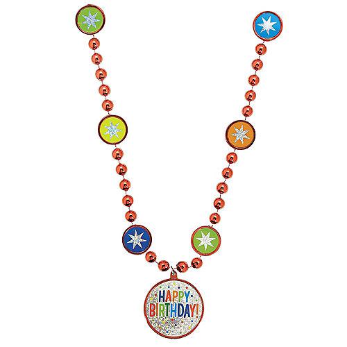 Rainbow Balloon Bash Birthday Necklace Image #1